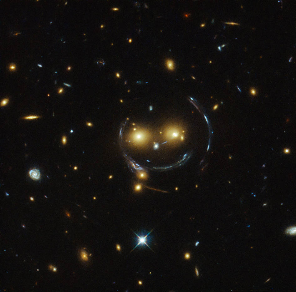 <p>The space agency NASA posted this image from the Hubble Telescope. </p>