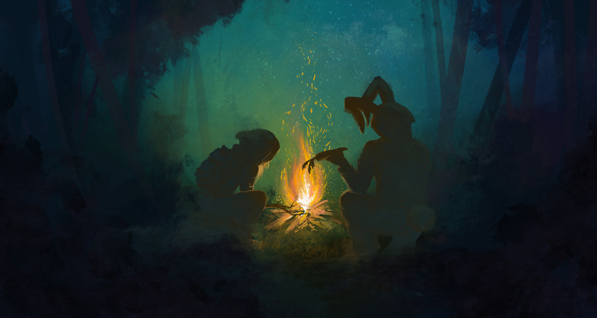 """<p>Art for the new show, """"A Light In The Void,"""" which blends music from the Colorado Symphony with a light-show and talks from three real-life scientists.</p>"""