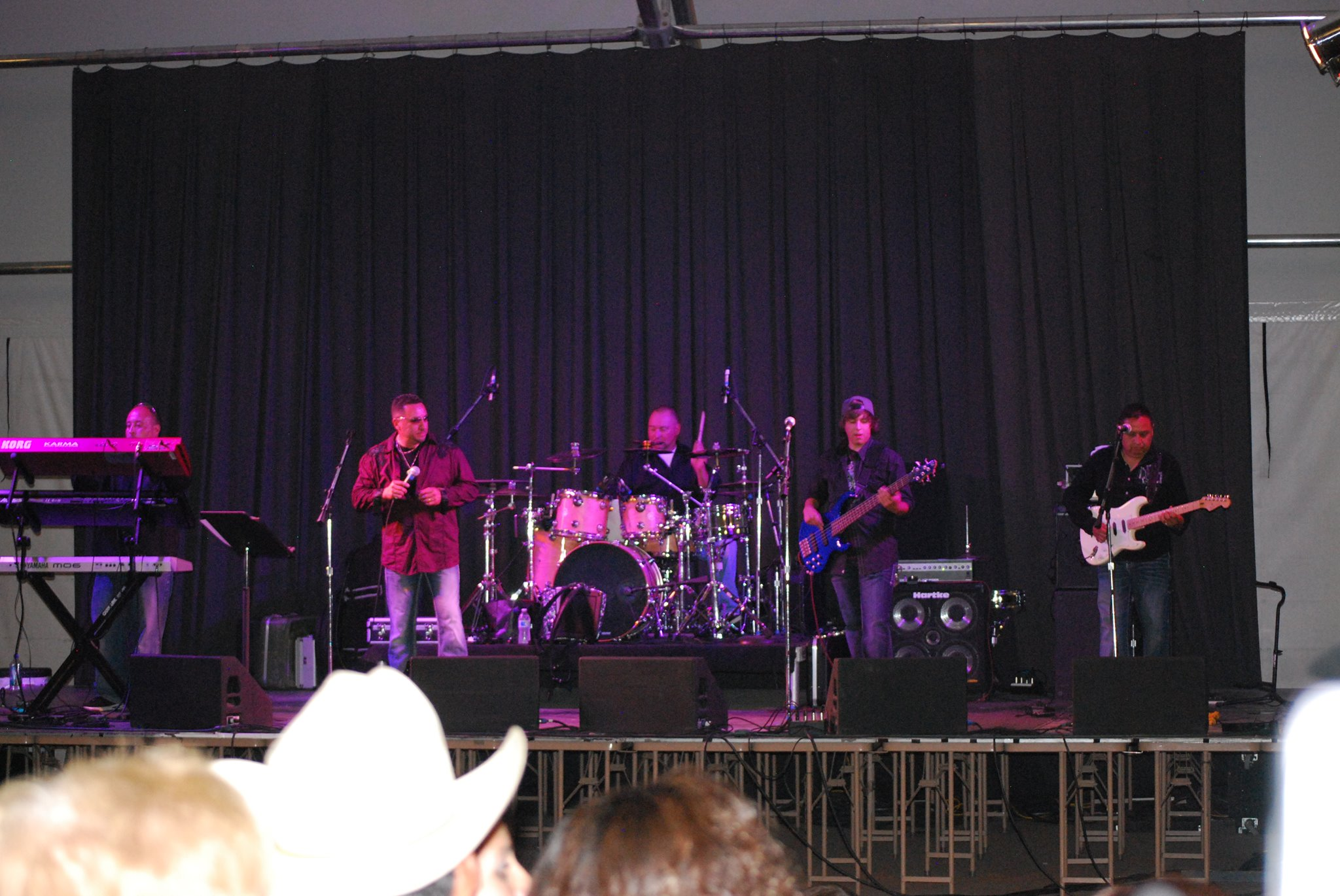 <p>Colorado Springs band Tejano Heat plays during Fiesta Day at the 2013 Colorado State Fair in Pueblo.</p>