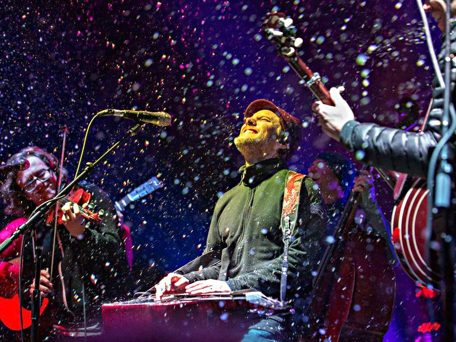 <p>The Infamous Stringdusters at WinterWonderGrass in Avon, Colorado.</p>