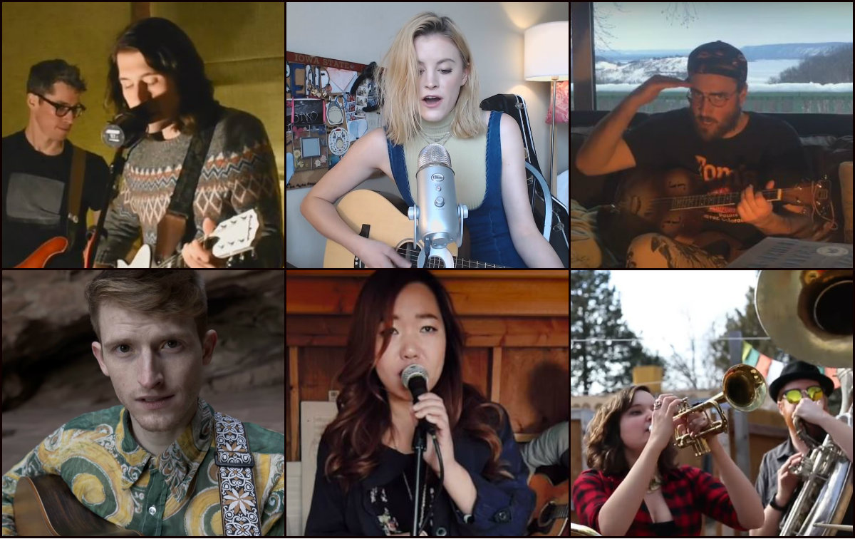 <p>(clockwise from top left): The Outfit, Lauren Liberty Ives, Rossonian, Gora GoraOrkestar, Ivory Circle and Bay Bryan are included in our favorite Colorado submissions to the 2017 Tiny Desk Contest.</p>