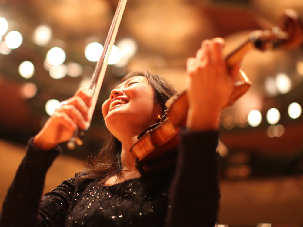<p>Violinist Yumi-Hwang Williams is concertmaster of the Colorado Symphony.</p>