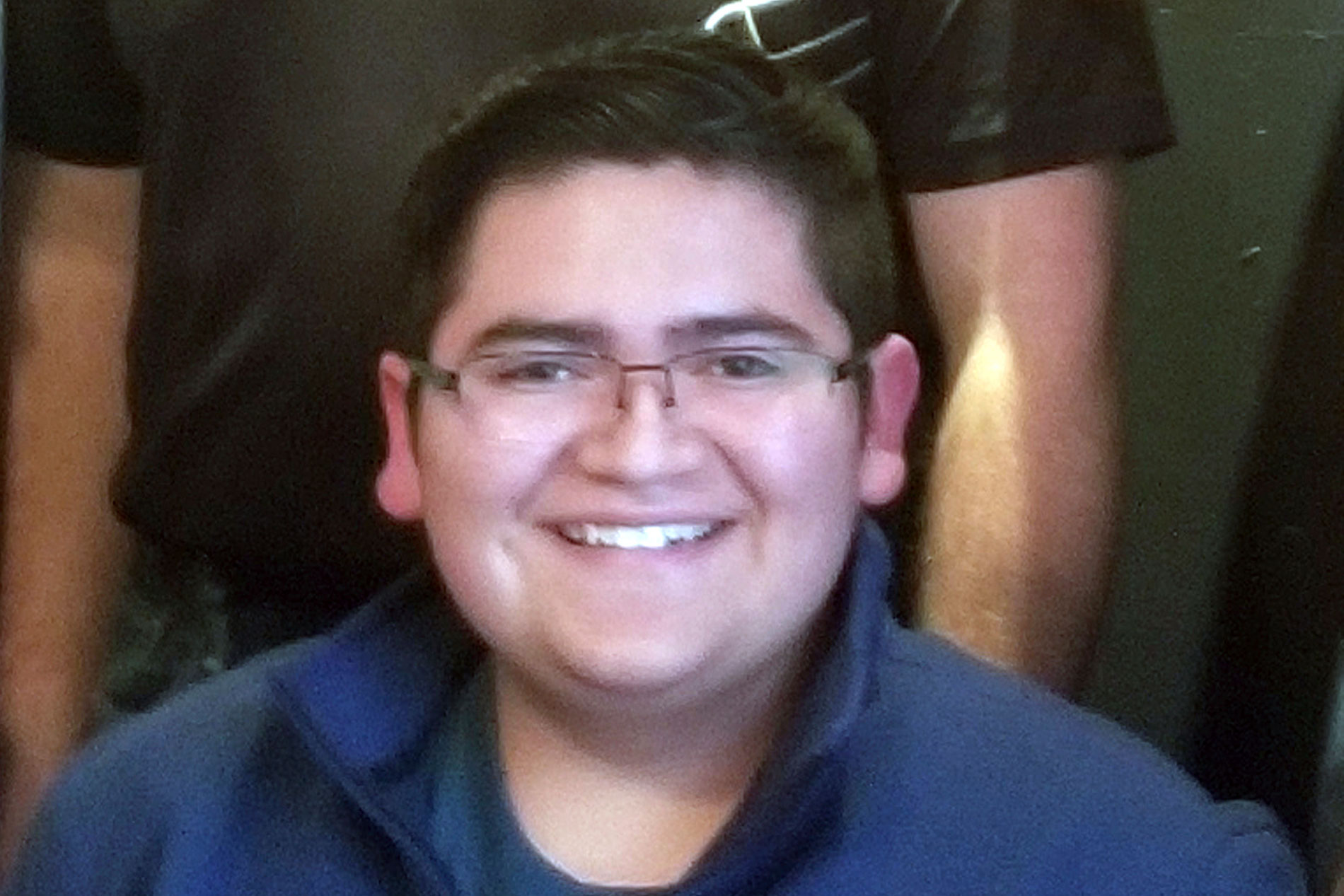<p>This undated photo provided by Rachel Short shows Kendrick Castillo, who was killed during a shooting at the STEM School Highlands Ranch on Tuesday, May 7, 2019, in Highlands Ranch, Colo.</p>