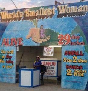 Little Liz, World's Smallest Woman, Boulder County Fair