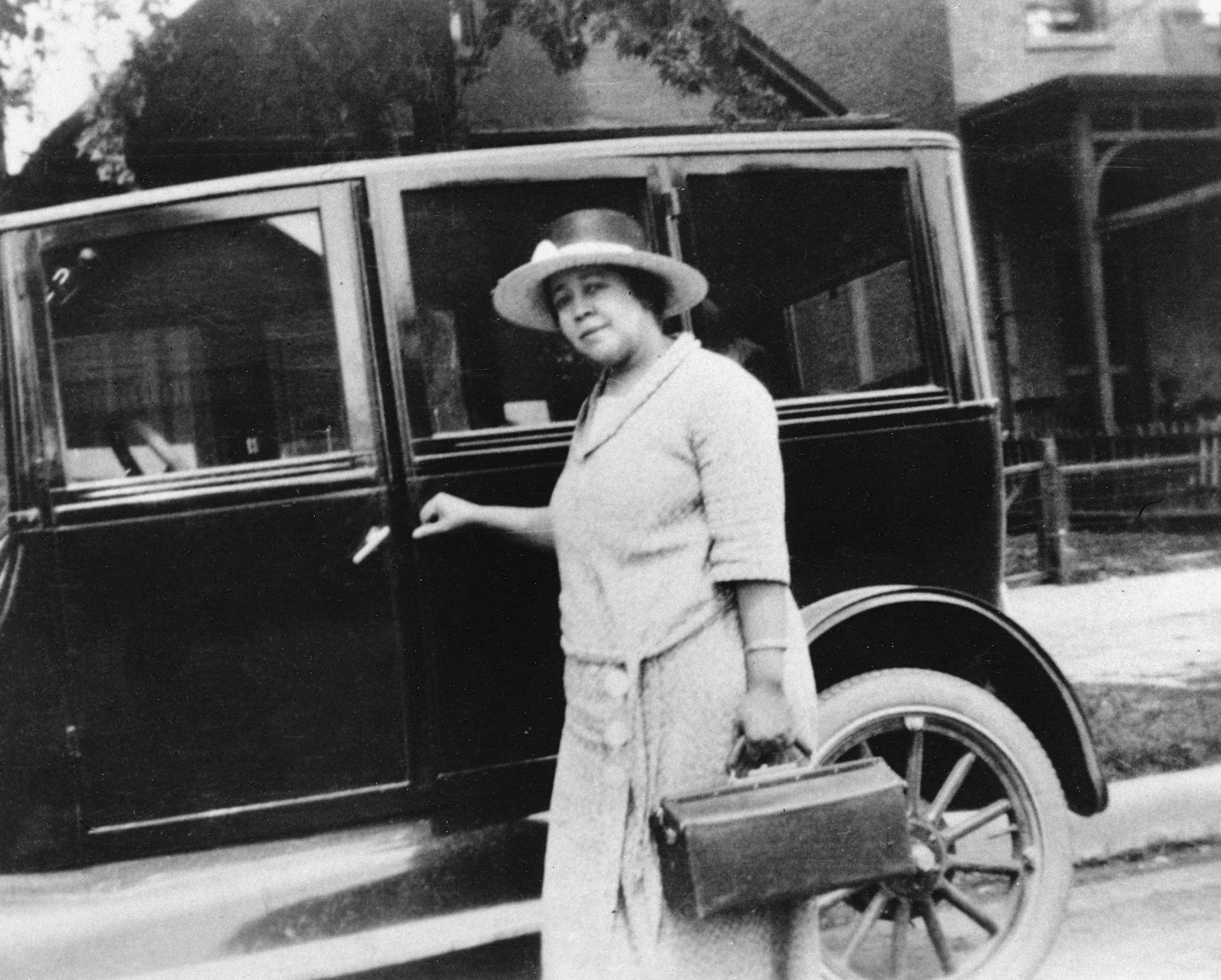 Dr. Justina Ford, circa 1920s. The first African American female doctor in Denver, Ford was initially denied a medical license. She and her patients were also denied access to Denver hospitals. Even so, late in life she estimated that she had delivered roughly 7,000 babies during her fifty-year career. In 1984, her Arapaho Street house and home office, scheduled for demolition by the city, was moved to its current location on California Street where it serves as the home of the Black American West Museum and Heritage Center.