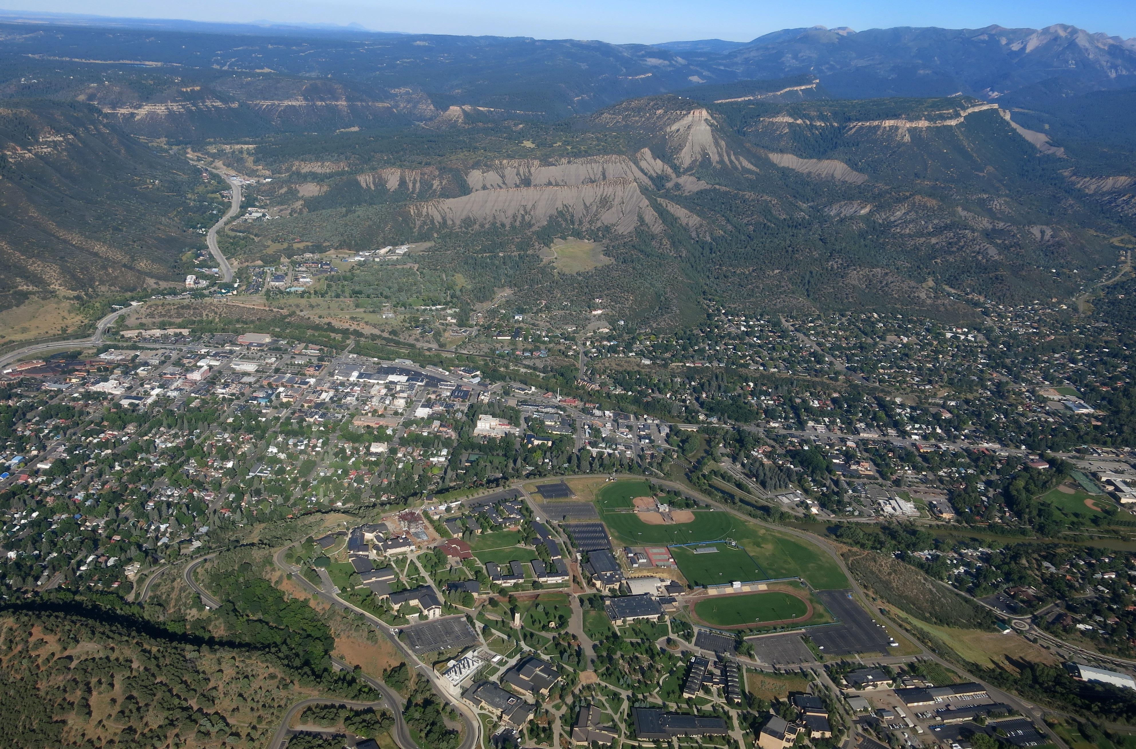 Durango on Aug.9, 2015. The Animas River flows through the city.