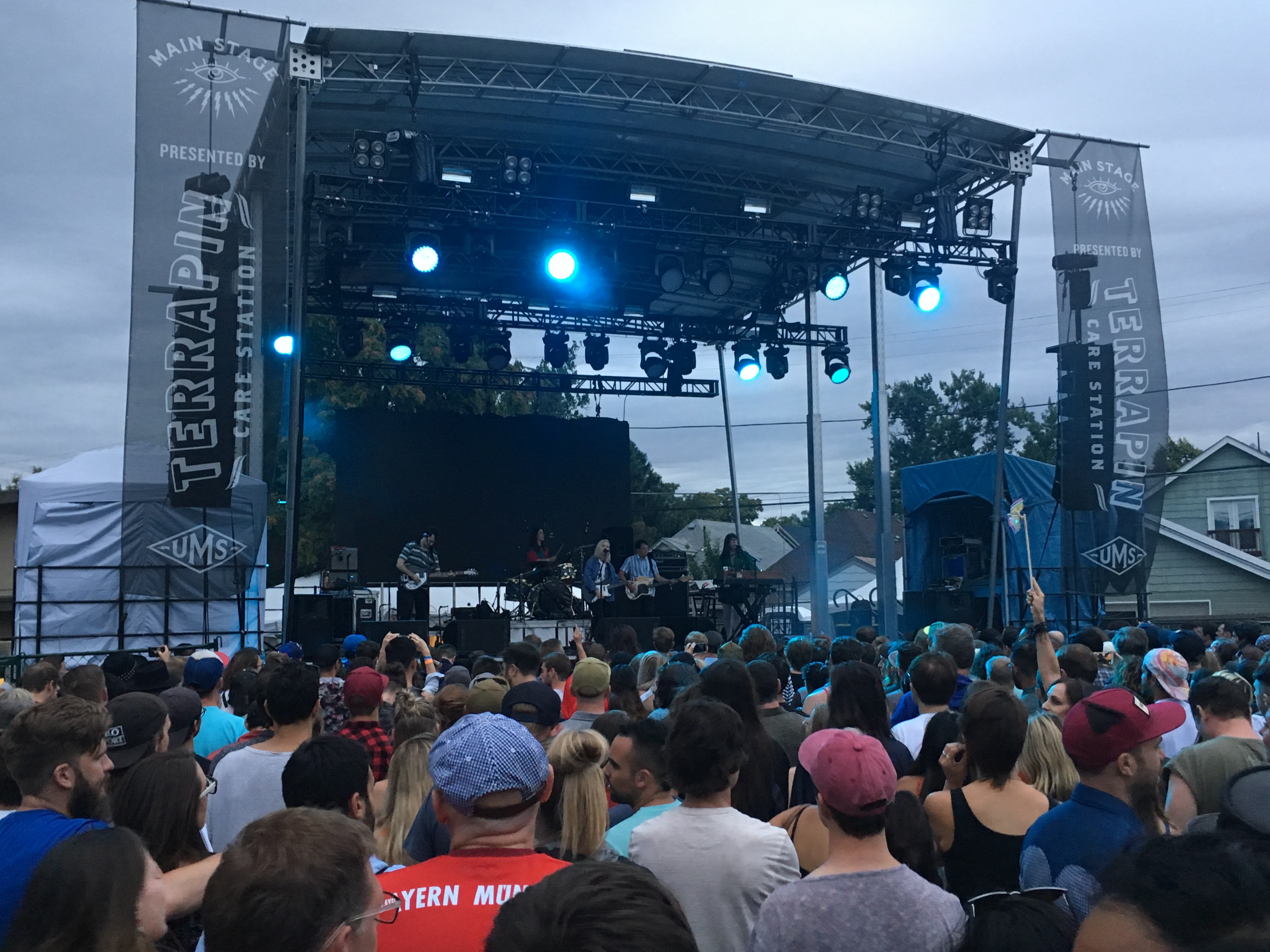 <p>Alvvays closed out the Main Stage at UMS 2018.</p>