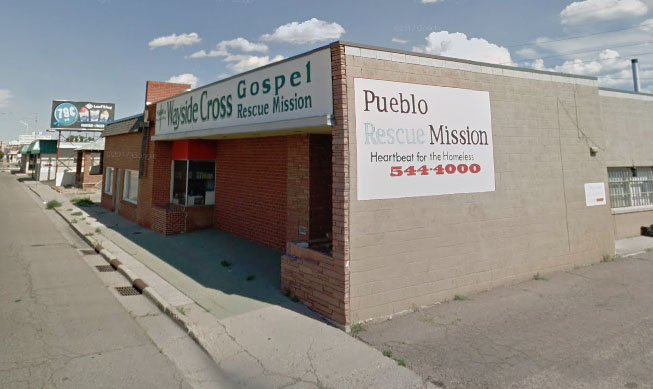 <p>The Pueblo Rescue Mission building near downtown Pueblo will be renovated after the organization received a $1.3 million state grant. </p>