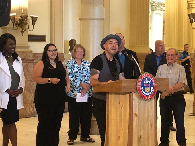 """Bobby LeFebre, Colorado's new Poet Laureate, says """"the poet is a truth teller who manifests, evokes and makes tangible the visions and love that live inside of us all..."""""""