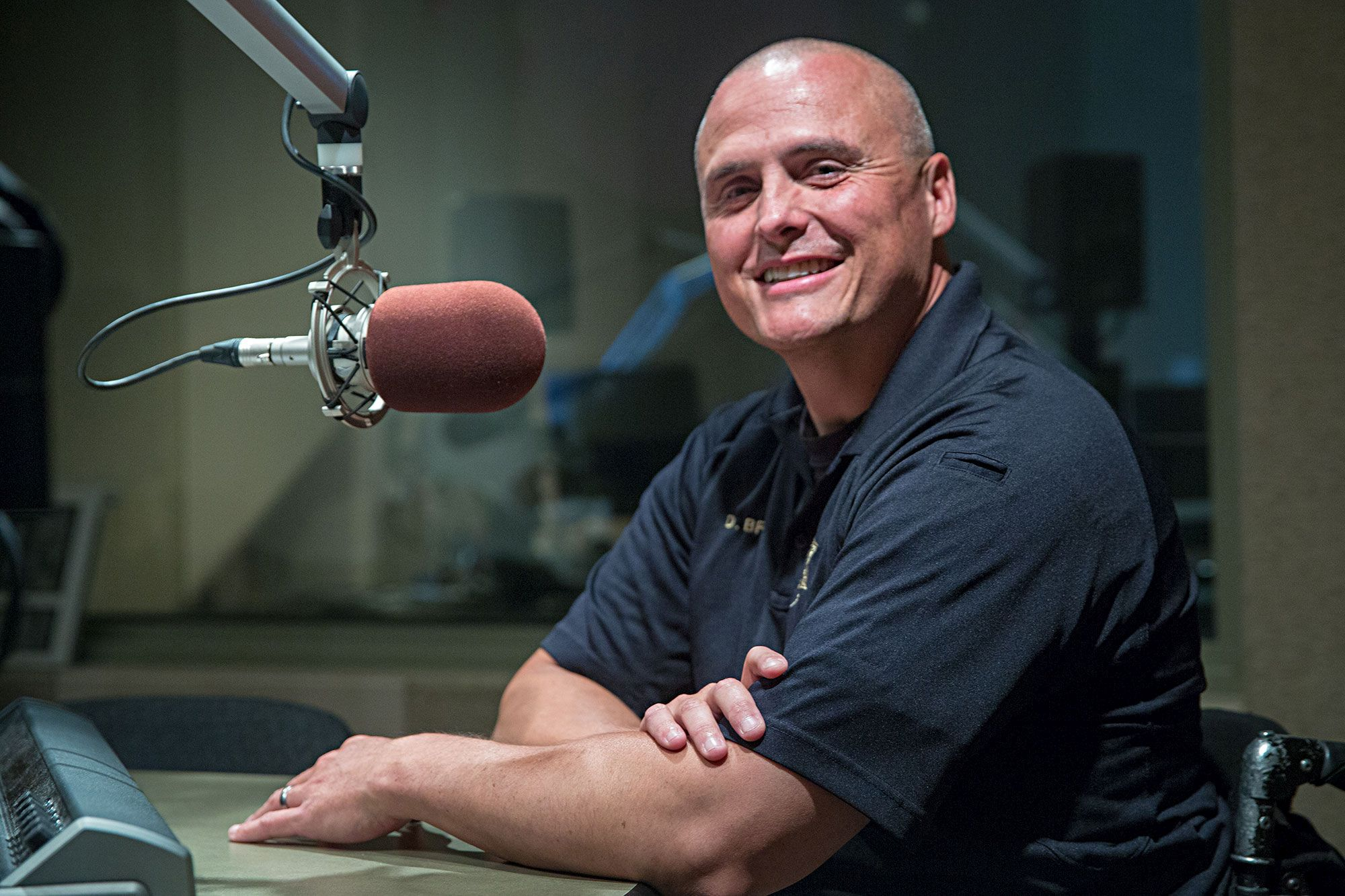 Detective Dan Brite with the Douglas County Sheriff's Office at CPR Studios on August 27, 2019.