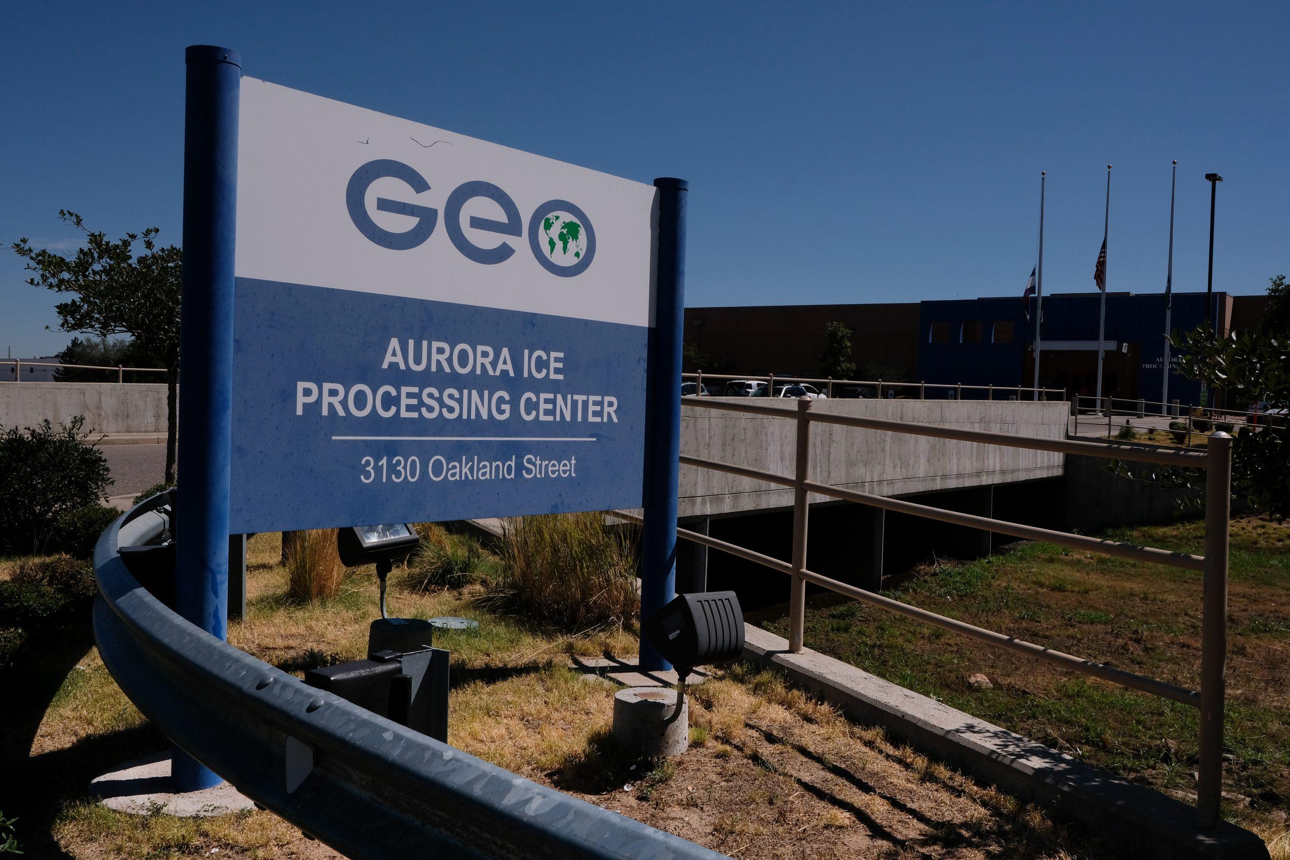 ICE Processing Center in Aurora, CO