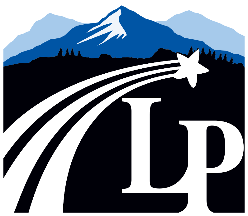 The logo for Lewis-Palmer School District.