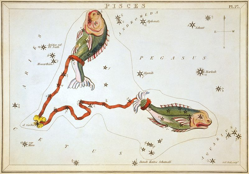 File:Sidney Hall - Urania's Mirror - Pisces. This image is available from the United States Library of Congress's Prints and Photographs division under the digital ID cph.3g10073