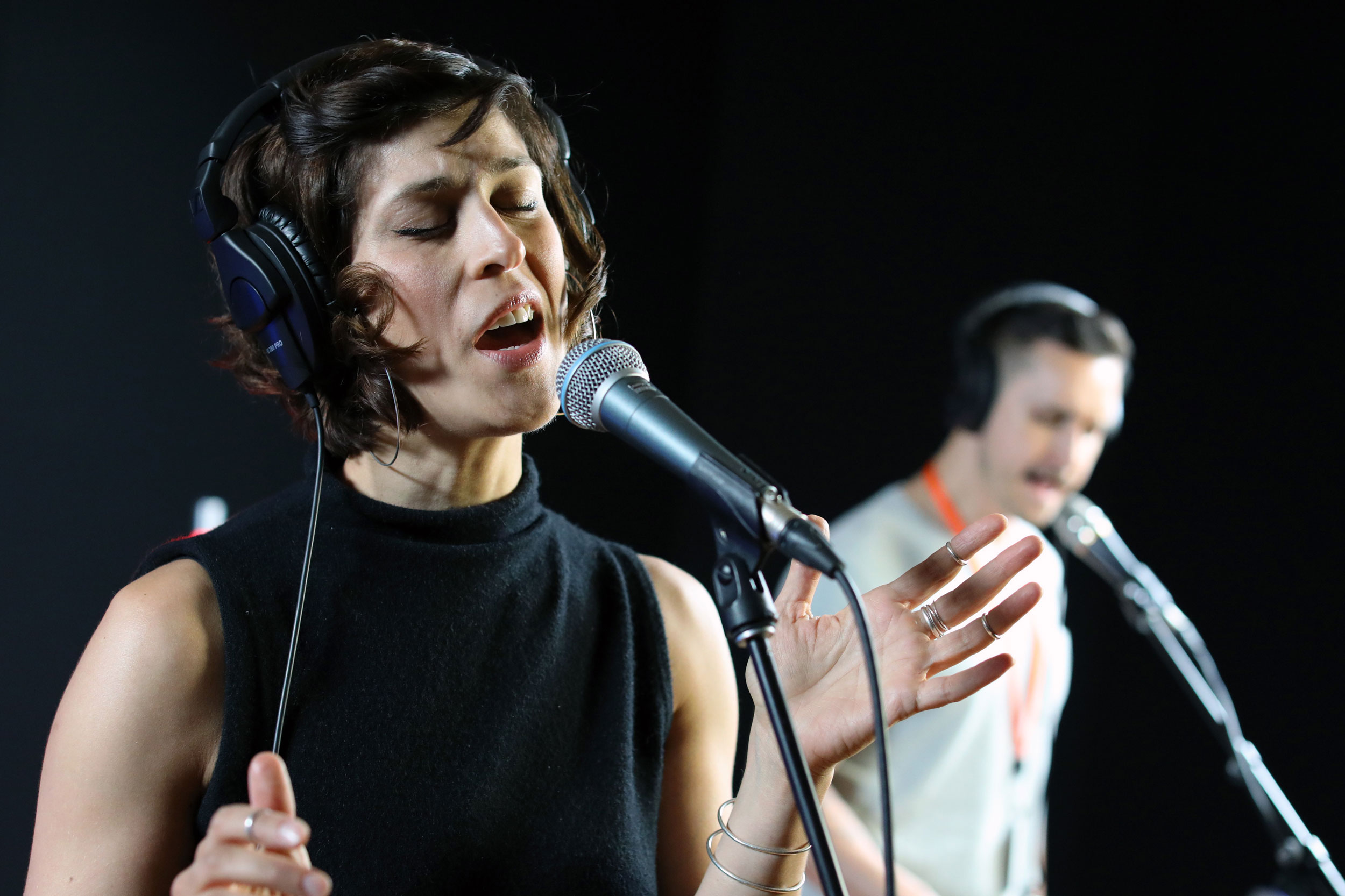 Dessa In The CPR Performance Studio