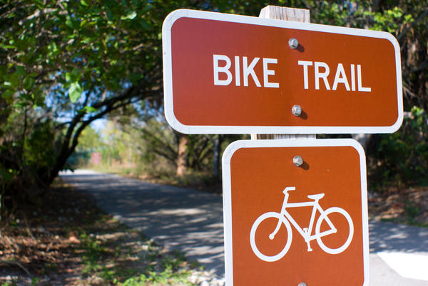 Bike Trail Sign