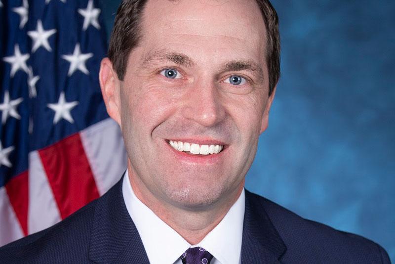 Democrat Rep. Jason Crow of Aurora.