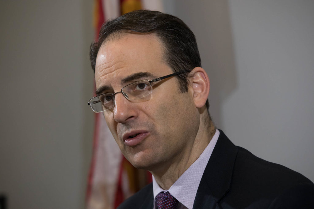 Colorado Attorney General Phil Weiser photographed on Oct. 23, 2019.