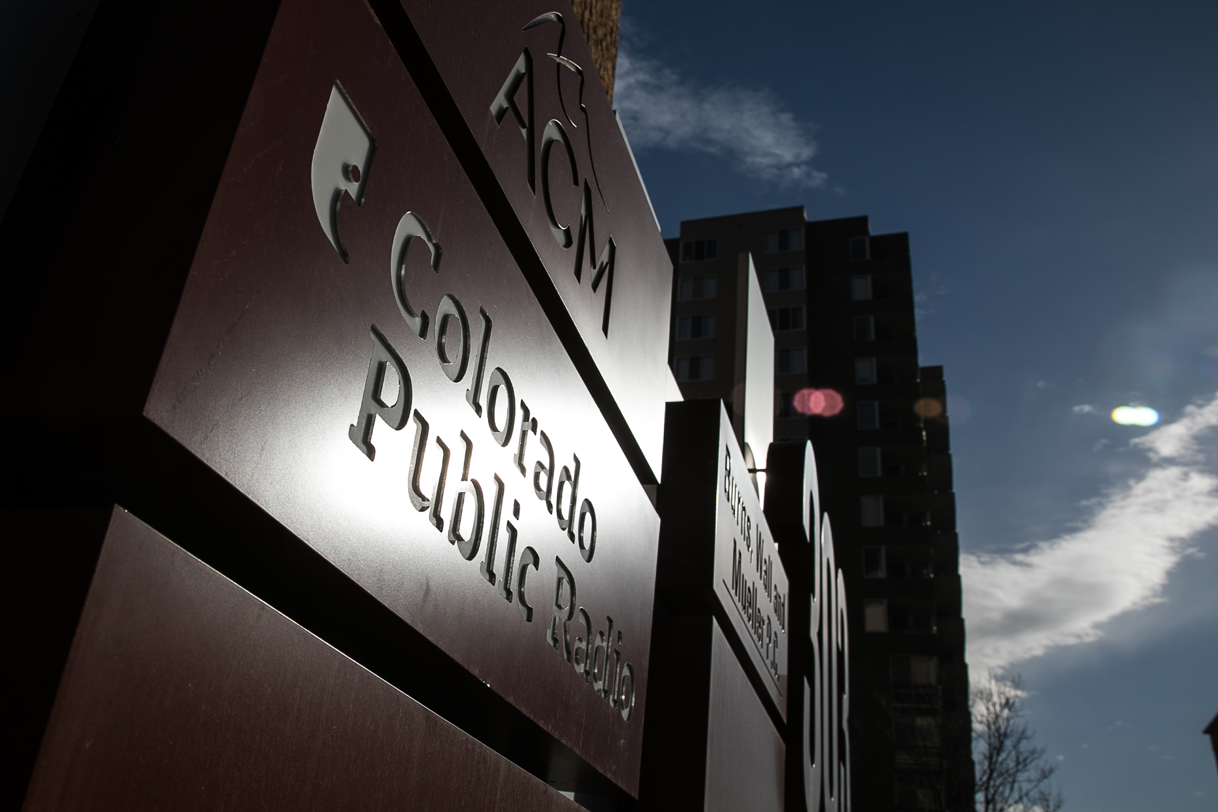 Colorado Public Radio News Downtown Denver HQ Exterior