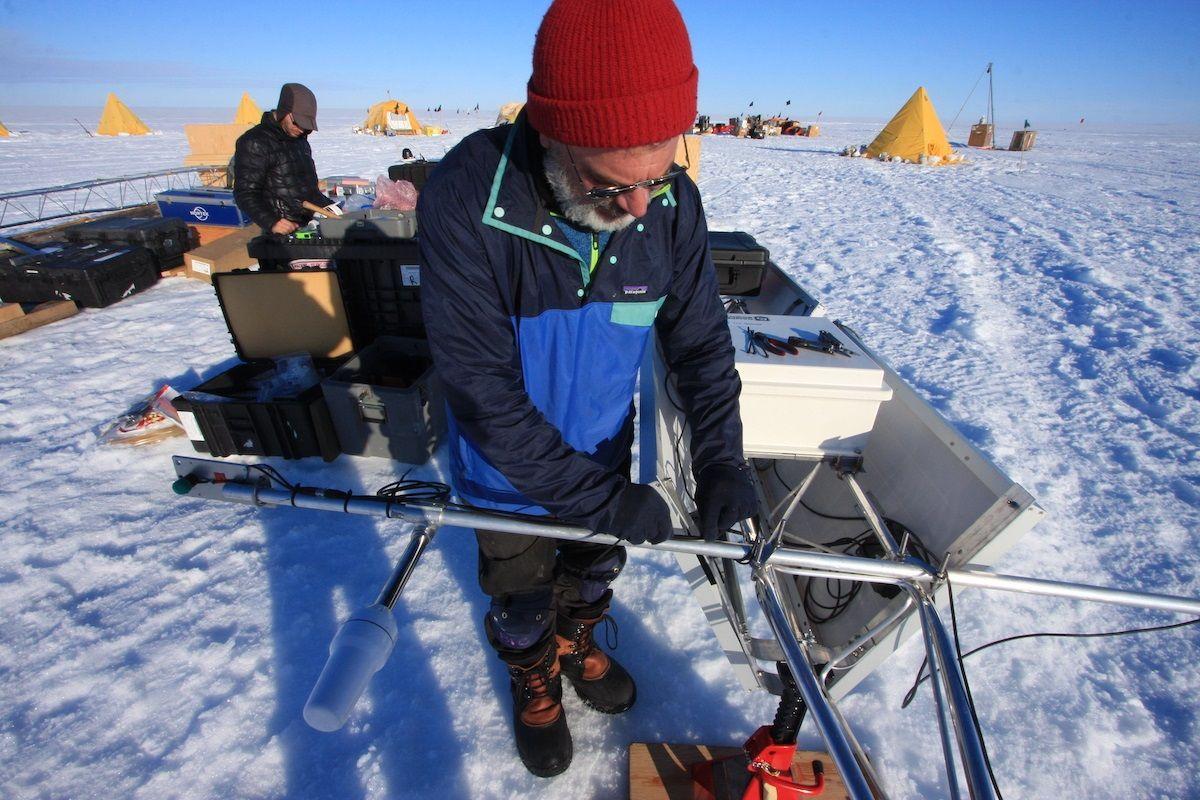Antarctica Ted Scambos Colorado Scientist CU Boulder Climate Change Research