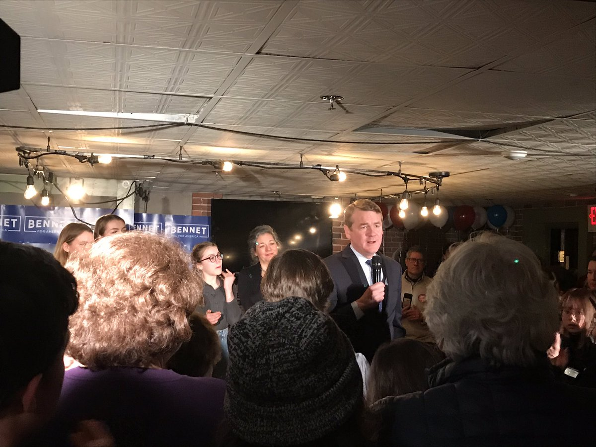 Bennet says he's ending his campaign in New Hampshire on Tuesday, Feb. 11, 2020.