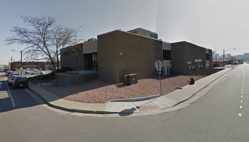 The Fox Reentry Center, one of the many halfway houses in Denver owned by CoreCivic--at least for now.