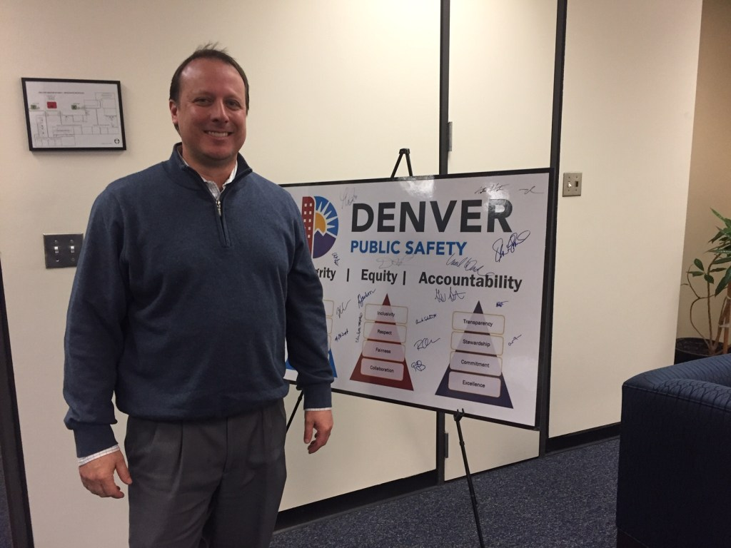 Greg Mauro is director of Denver's Community Corrections Division