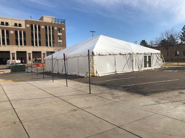 UCHealth launched three new screening sites for COVID-19 in patients.