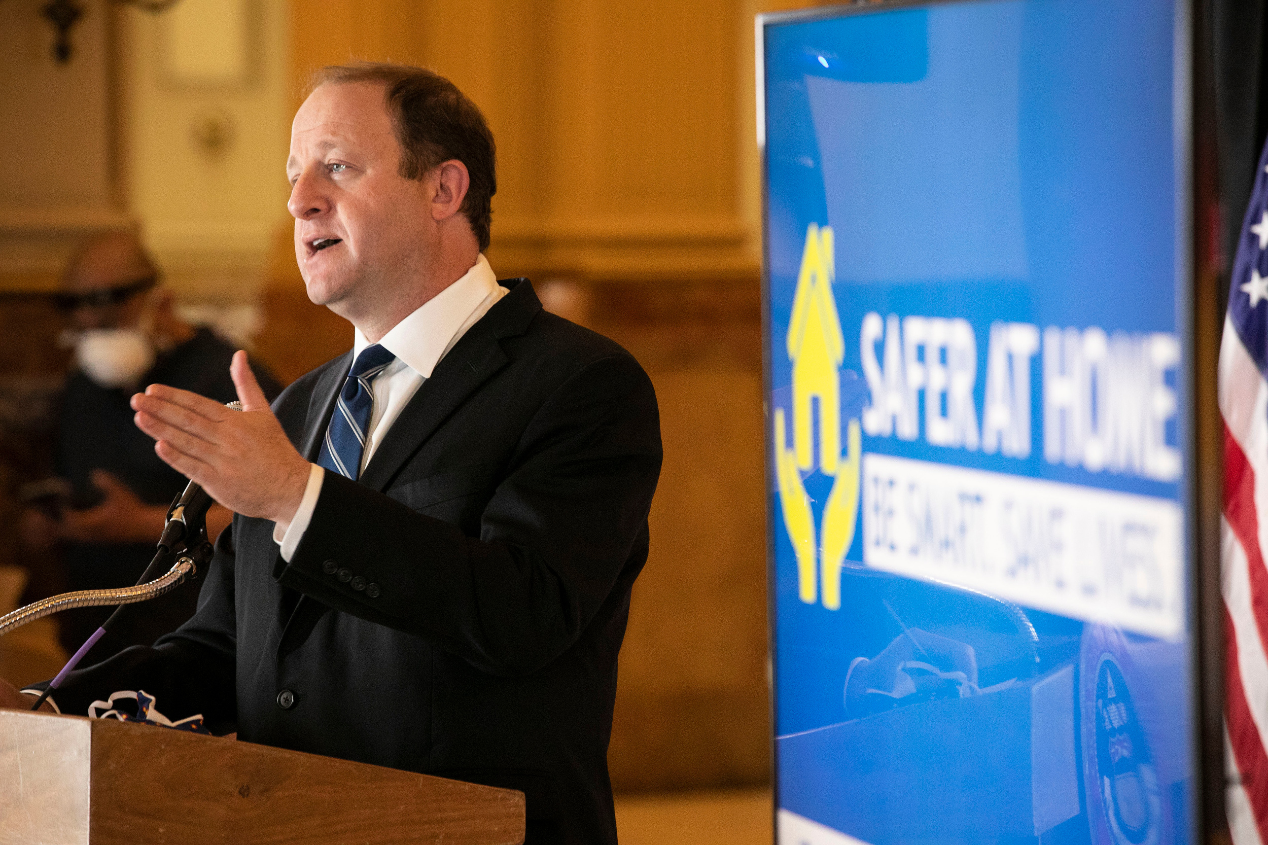 Polis Press Conference 200427 State Capitol