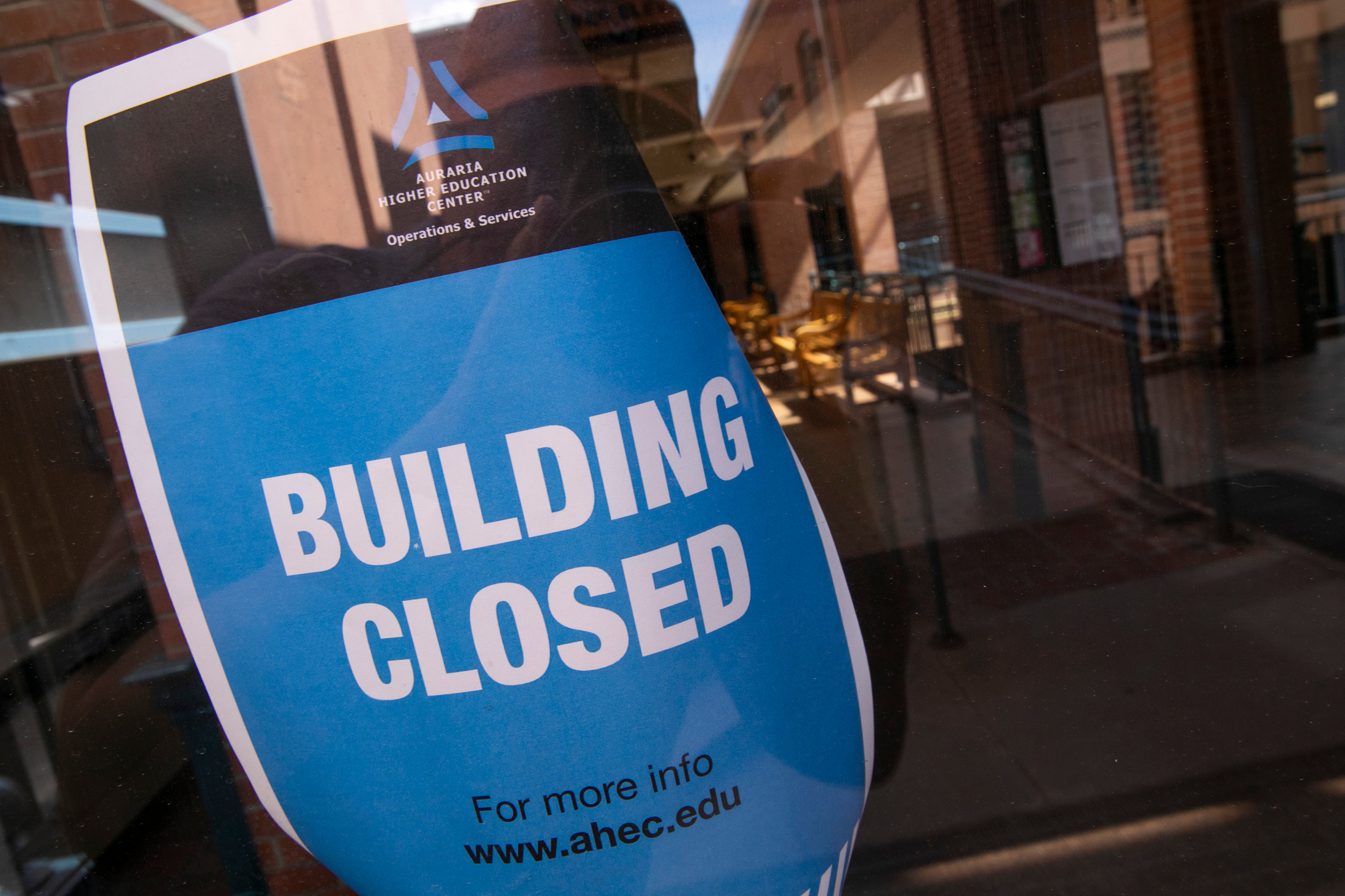 Denver's Auraria Campus Closed and Empty