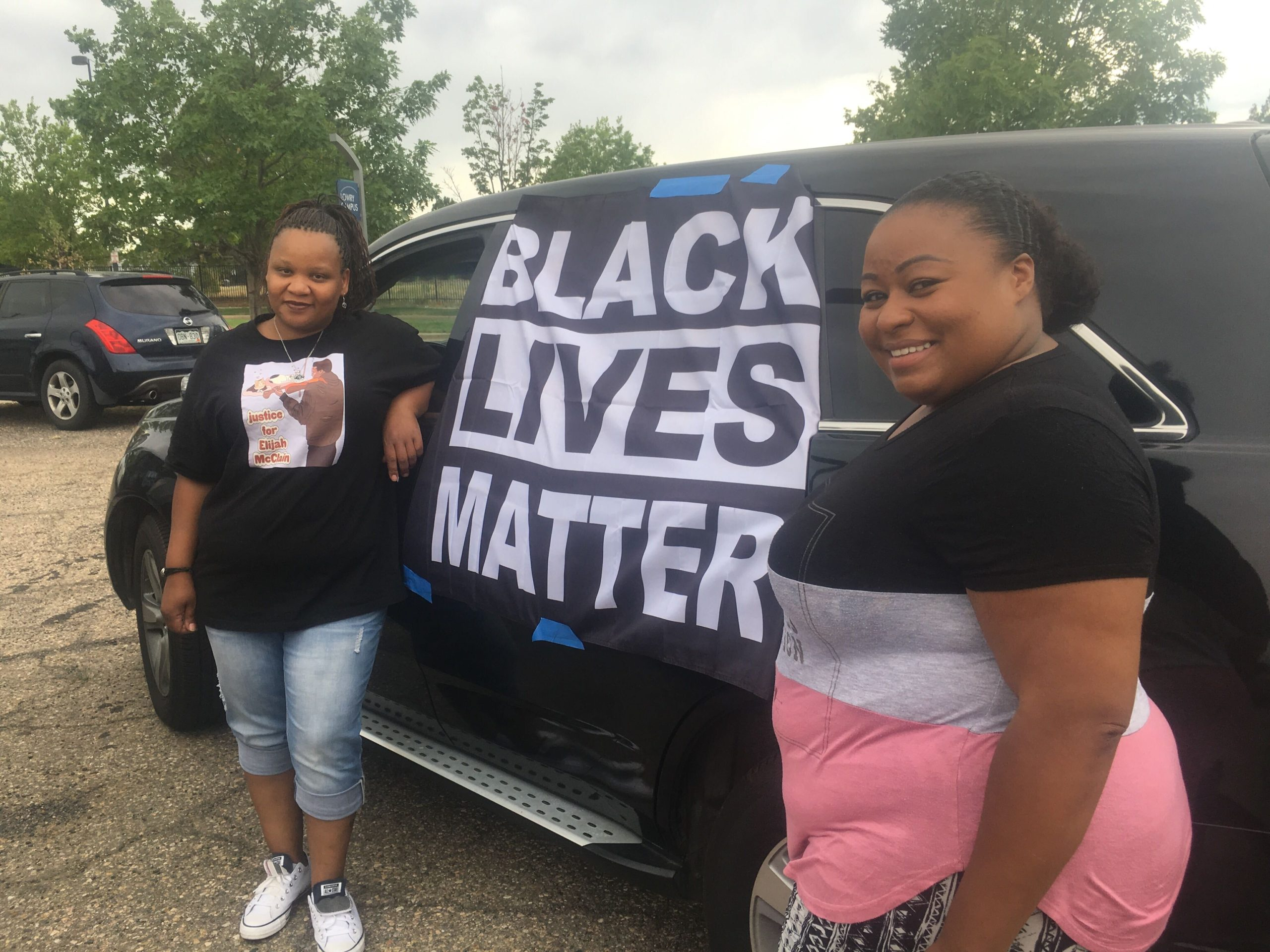Car protest for Elijah McClain