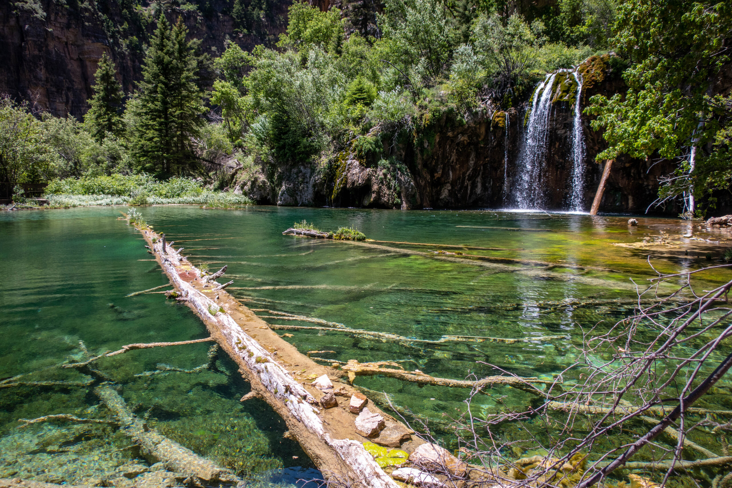 Hanging Lake as it appeared June 14, 2020.