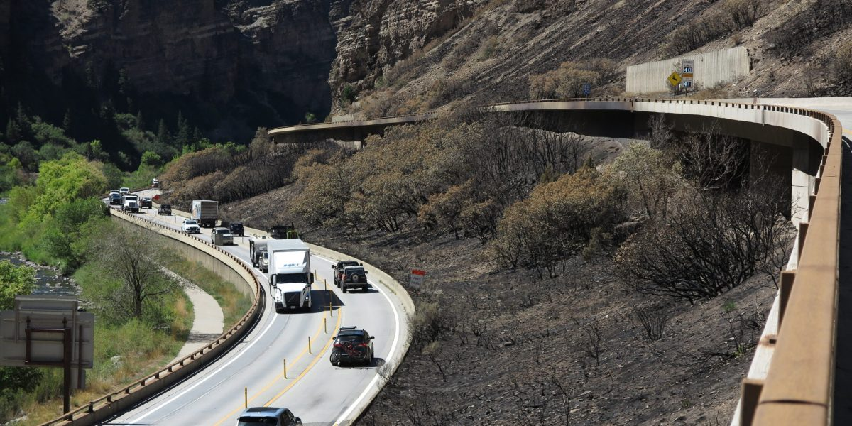 Glenwood Canyon Is Exhibit A For The Risk Climate Change Poses To The Country's Infrastructure