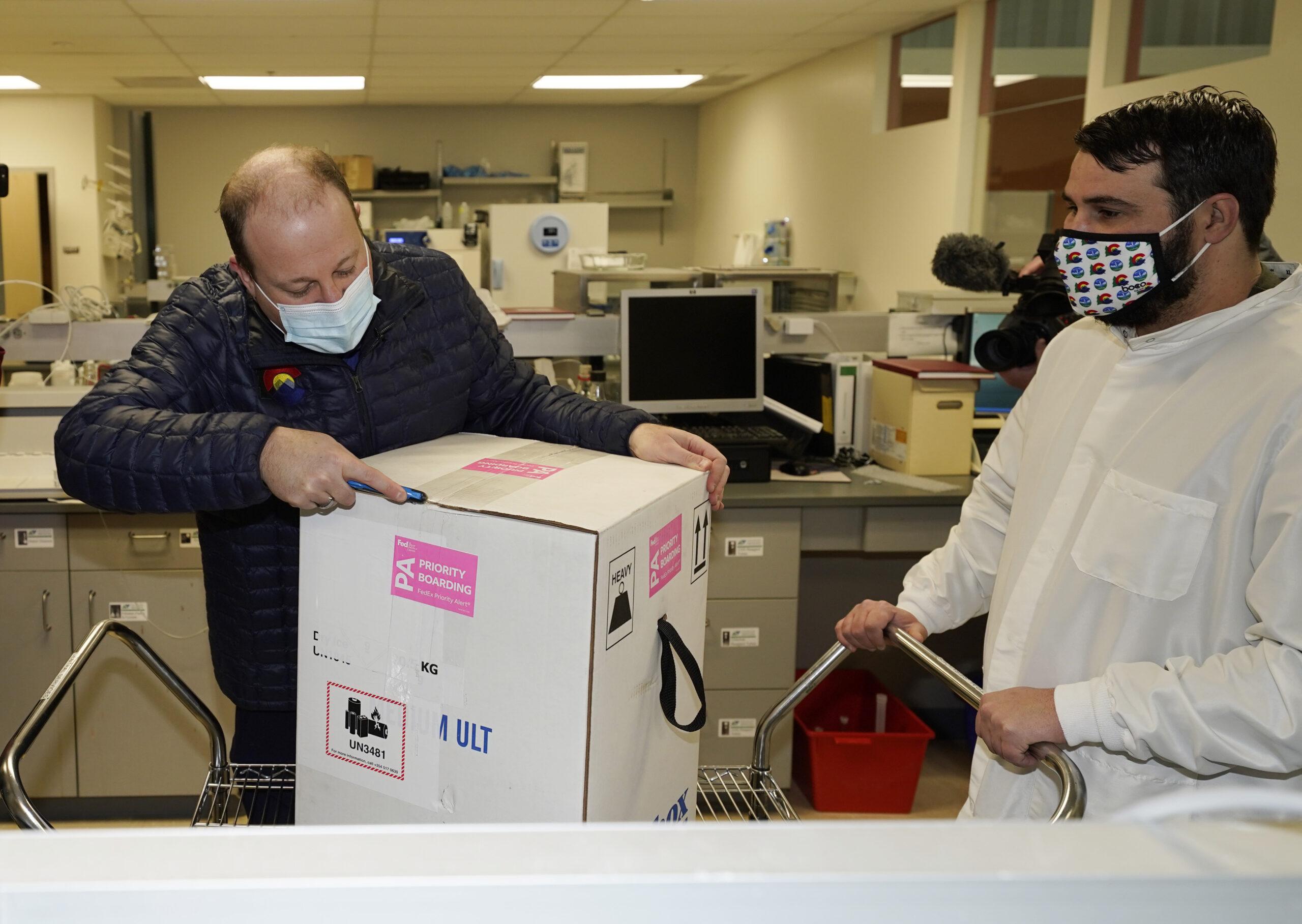 Polis COVID-19 Coronavirus Vaccine Delivery