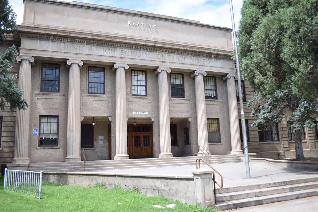 The historic Keating School in Pueblo.