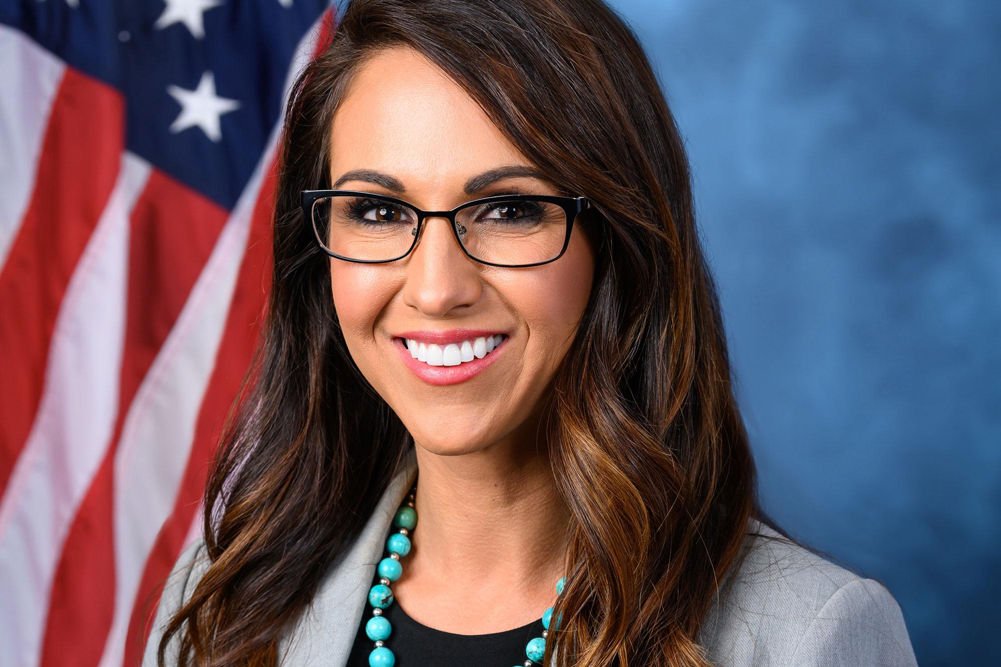 Congresswoman Lauren Boebert represents Colorado's 3rd Congressional District.