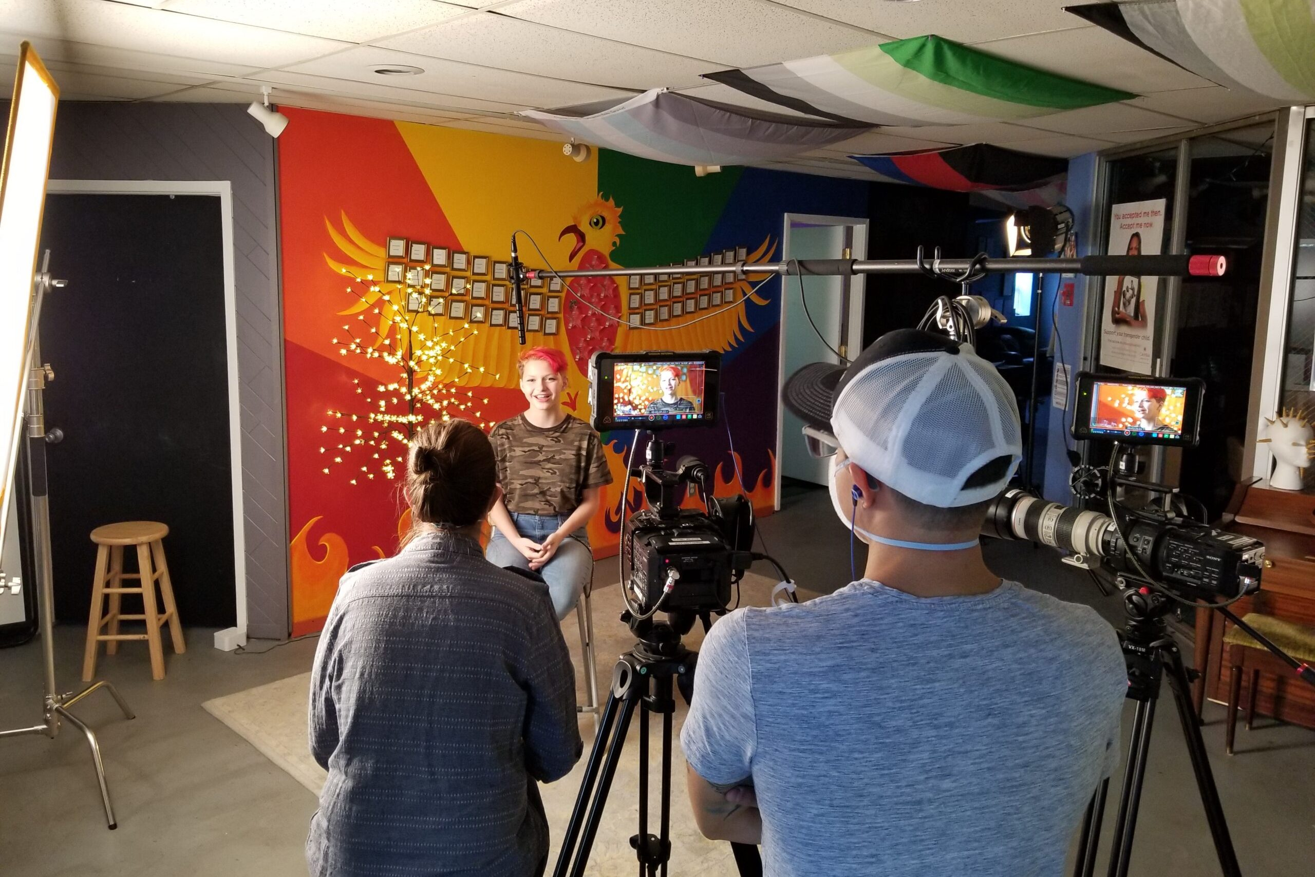 Inside Out Youth Services, an LGBTQ+ youth resource center in Colorado Springs, moved their fundraiser online in October of 2020.