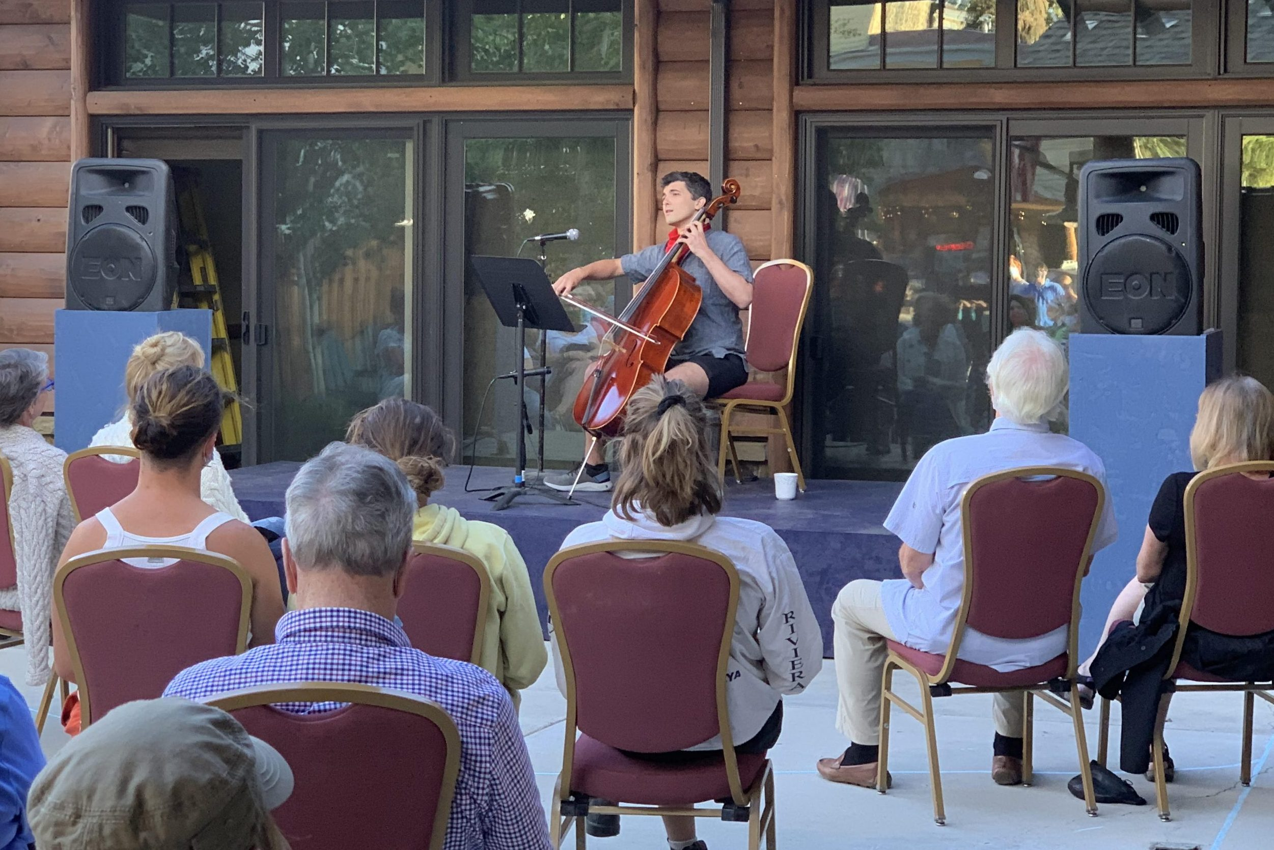 Rocky Mountain Repertory Theatre switched to patio shows last summer during the pandemic.