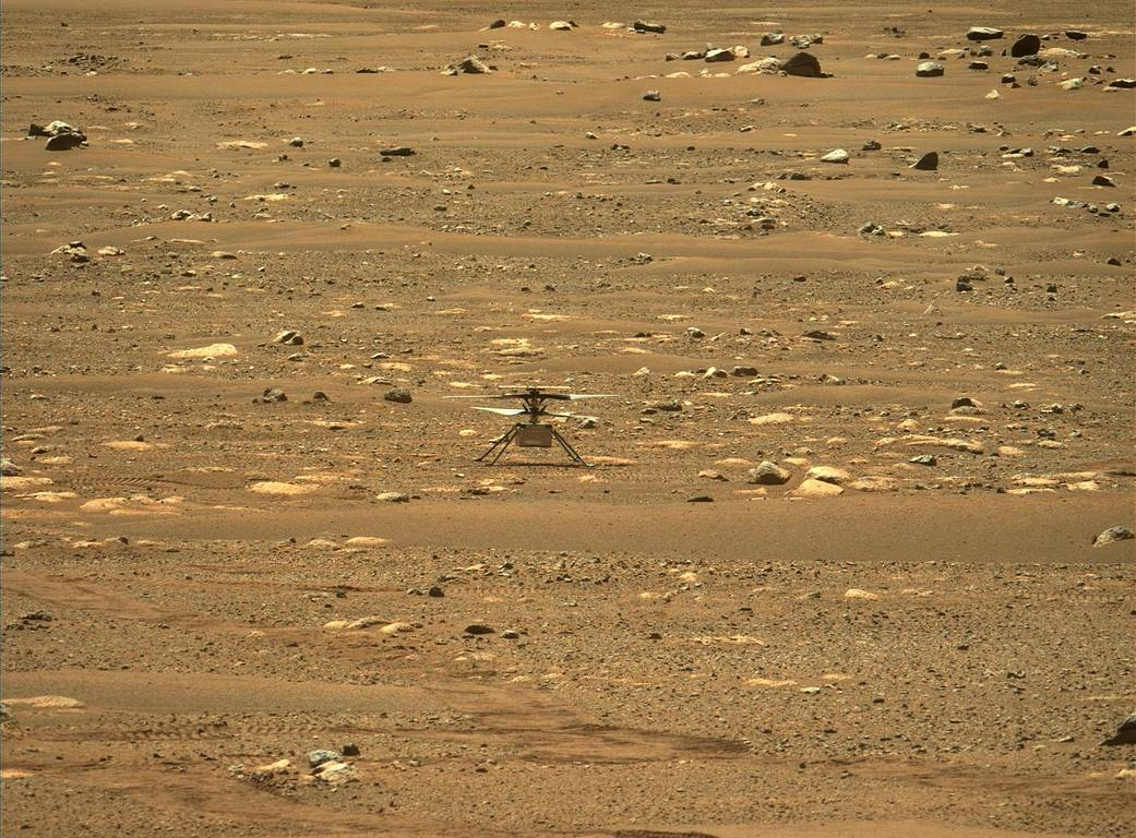 Mars Ingenuity Helicopter NASA