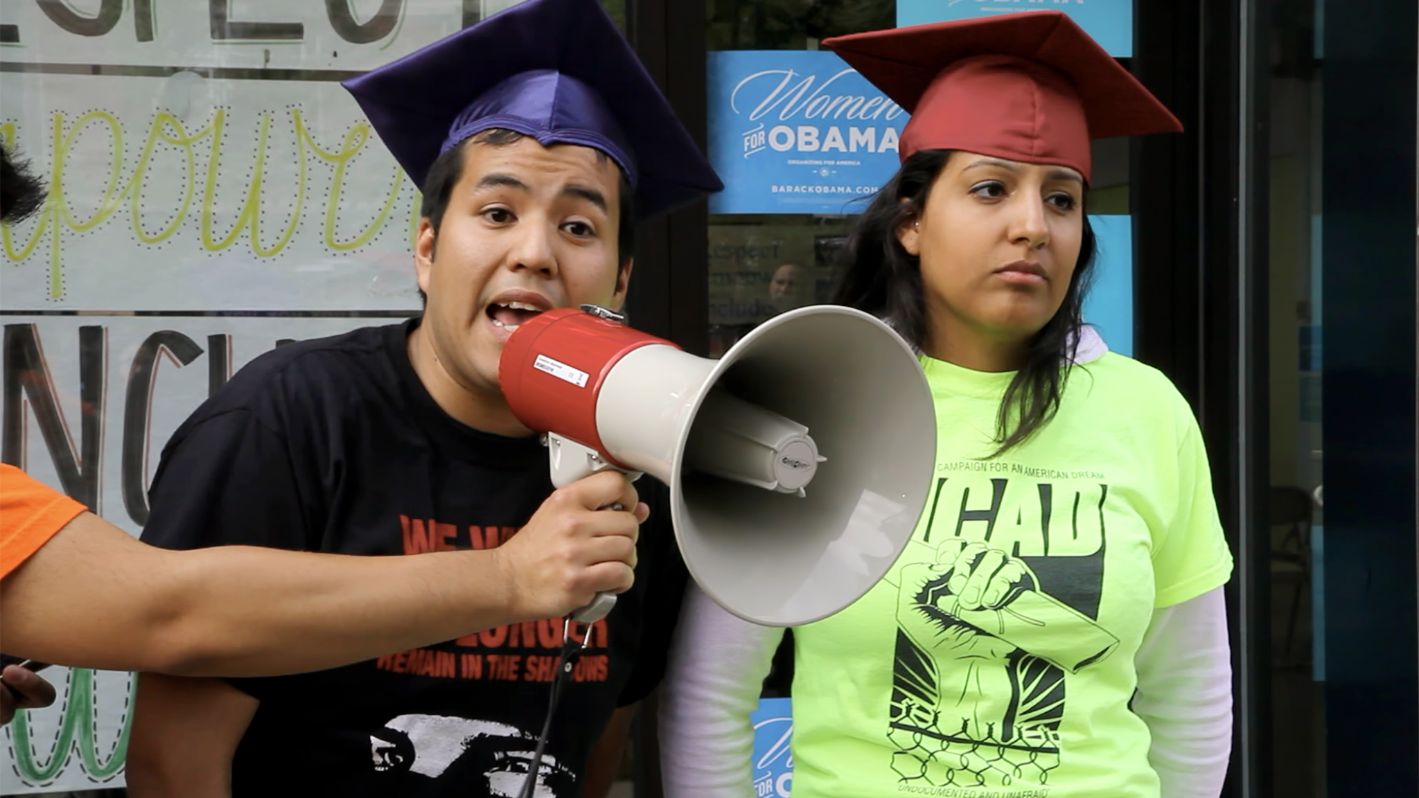 Javier Hernandez and Veronica Gomez in President Obama's reelection campaign office in Denver in June 2012.