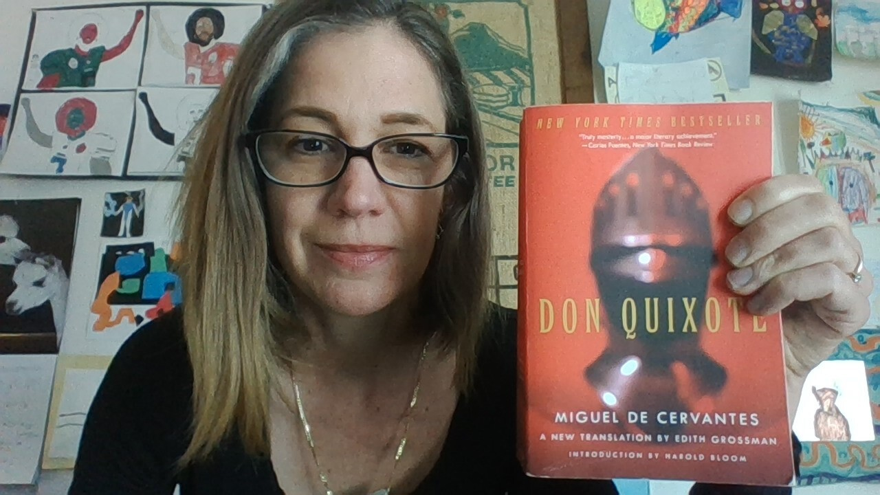 """Last summer, Anna Segur decided she'd read """"Don Quixote."""" She's more than halfway through the famed novel's nearly 1,000 pages — but is definitely not at the end of her journey."""