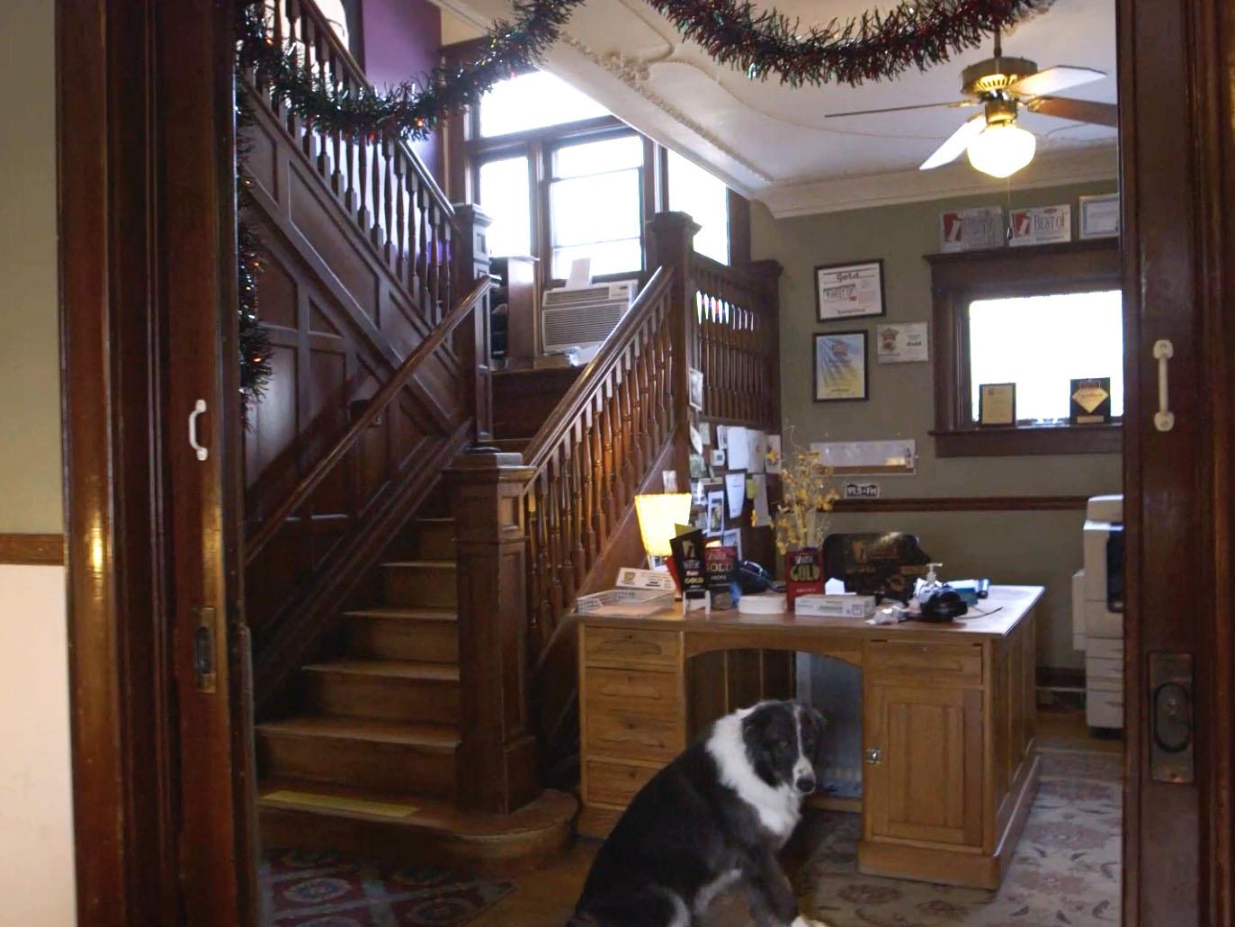 KRCC inside old home at 912 North Weber