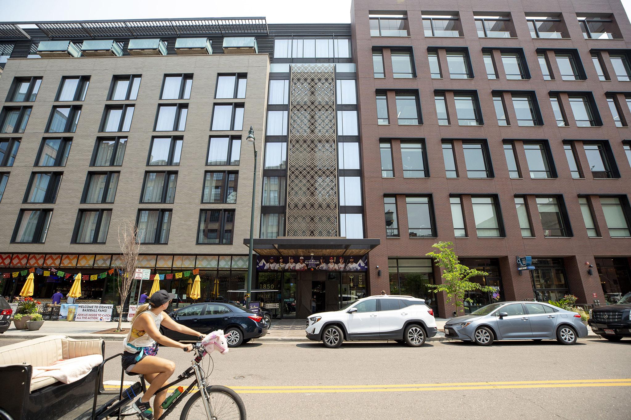 The Maven Hotel  on Wazee Street in LoDo. July 12, 2021.