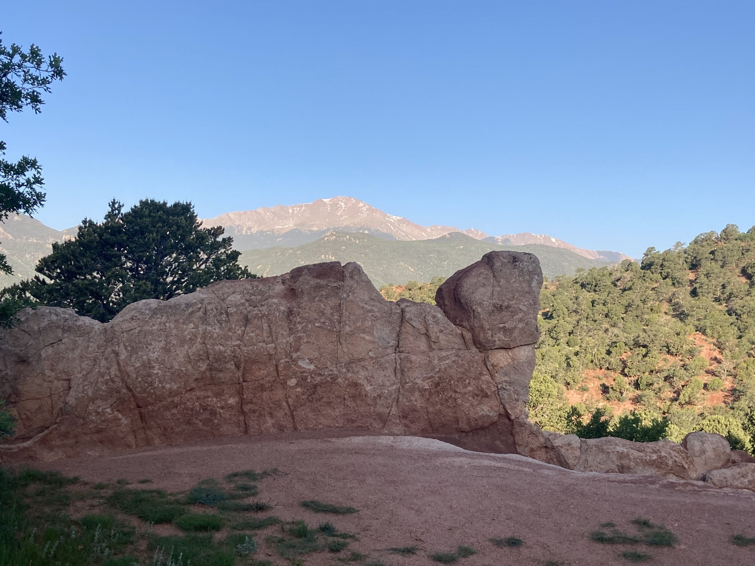 The rock formation in Garden of the Gods that inspired Matt Cavanaugh's tall tale in this week's episode of Peak Past.