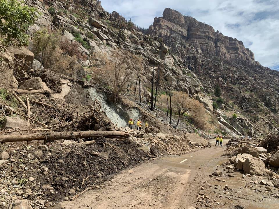 """Because Glenwood Canyon through I-70 has suffered """"extreme damage"""" from recent mudslides, Colorado has issued a state disaster declaration and is preparing the request for a federal declaration. Gov. Polis on Aug. 2 said that the area would remain closed """"from a few days to a few weeks."""""""