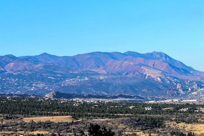 View of Rampart Range.