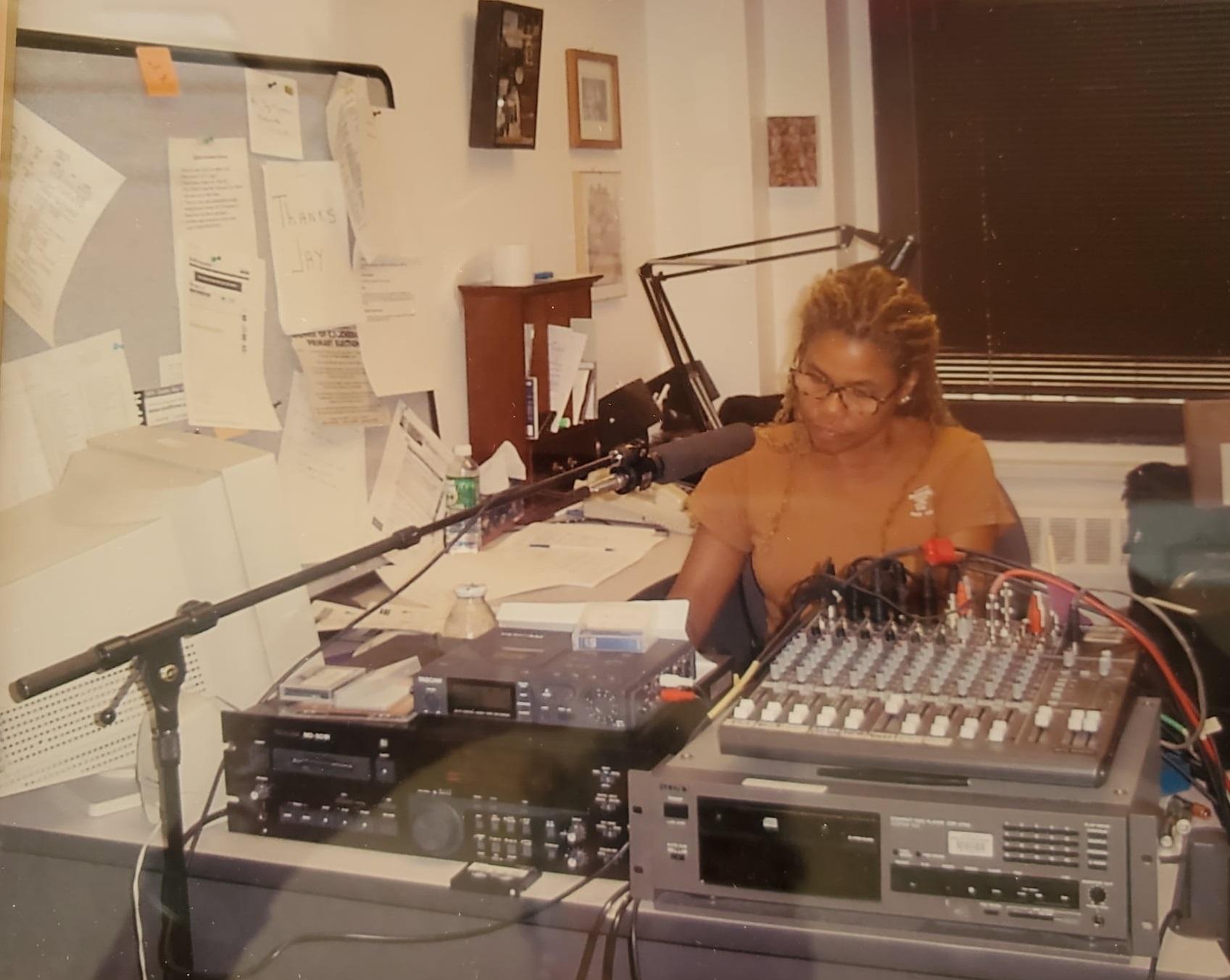 Jo Ann Allen at NPR in 2001