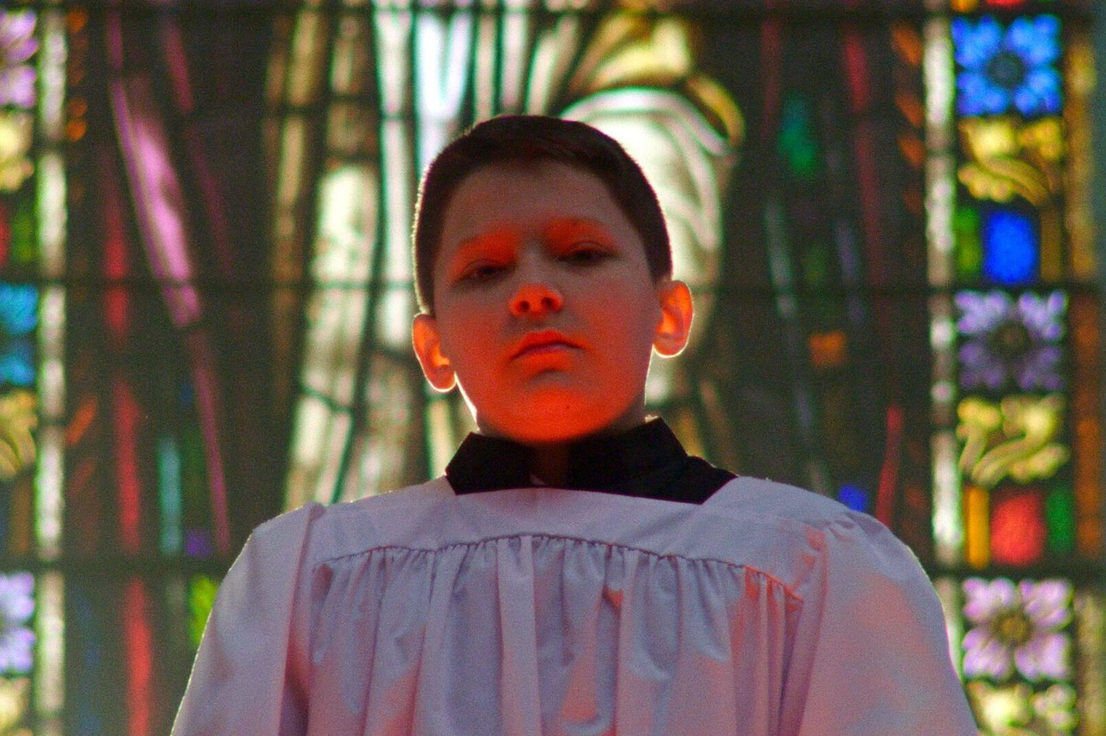 """A still from the film """"Procession"""" directed by Robert Greene."""
