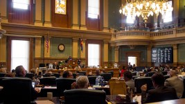 Scenes from the seat of government on the last day of the state legislative session.  denver; denverite; colorado; government; legislation; legislature; capitol; kevinjbeaty; politics; policy; house; house of representatives