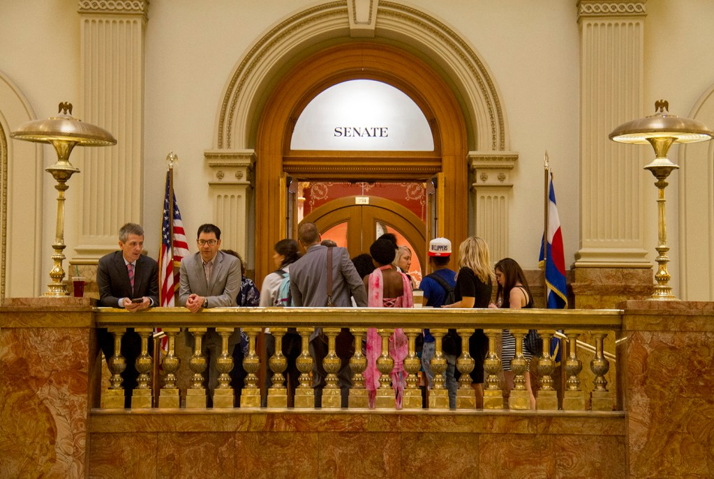 Scenes from the seat of government on the last day of the state legislative session.  denver; denverite; colorado; government; legislation; legislature; capital; kevinjbeaty; politics; policy; senate; senator