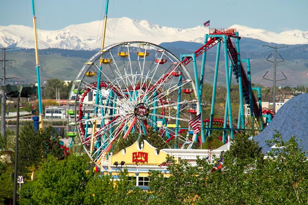 Wide shots of Elitch Gardens  elitch gardens; elitches; amusement park; fun; kevinjbeaty; denver; colorado; denverite